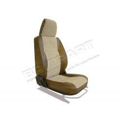 SEAT BASE BACK & HEADREST RH BROWN
