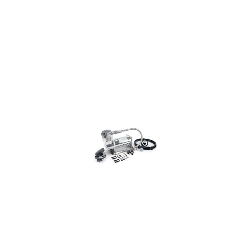 380C 200 PSI Chrome Compressor Kit (12V, 100% Duty @100 PSI, 55% Duty @200 PSI)
