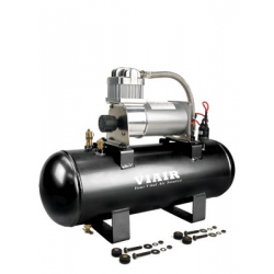 2.0 Gal. Tank Air Source Kit High Flow-150 (12V, 150 PSI Compressor)