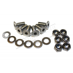 BONNET HINGE BOLT KIT S/S