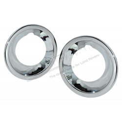 FOG LIGHT COVER - CHROME