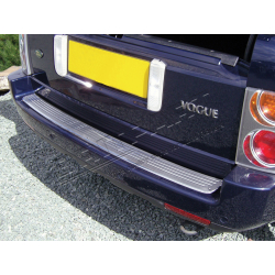 REAR BUMPER COVER-STAINLESS STEEL