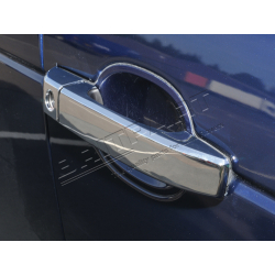 DOOR HANDLE COVER. CHROME
