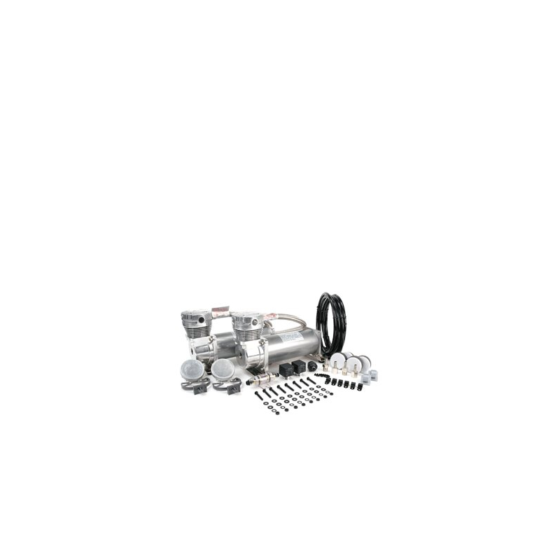 Dual Pewter 480C Value Pack (200 PSI, 480C/2, 165/200 P. Switch, 40 Amp Relay/2, Fuse Holder)