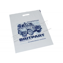 BRITPART BRANDED CARRIER BAGS PACK O