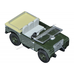 LAND ROVER 80 INCH FLAT BACK 1:76