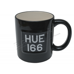 LAND ROVER 'HUE 166' MUG BLACK