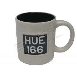 LAND ROVER 'HUE 166' MUG WHITE
