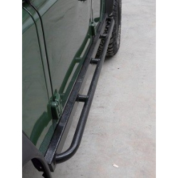 Defender 110 Rock Sliders With Nerf Bars