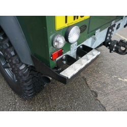 Defender 90 Bumperettes with & without Cut Outs