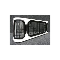 Defender Double Cab Full Set window guards