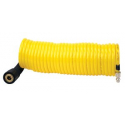 """30 Ft. Extension Coil Hose (Closed-ended 1/4"""" Quick Coupler & Stud)"""