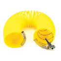 """35 Ft. Coil Hose, with 1/4"""" M Swivel, with Close Ended Clip-On Chuck"""