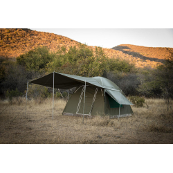 GEMSBOK BOW TENT 3MX3M MILITARY RIPSTOP CANVAS