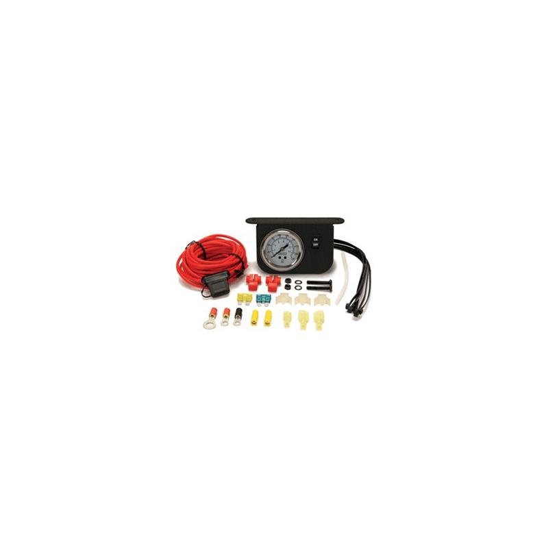 Illuminated Dash Panel Gauge Kit (150 PSI, 30 Amp)