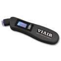 Digital Tire Pressure Gauge (5-100 PSI, measures in PSI/BAR/kPa, Blue Backlit LCD Display)