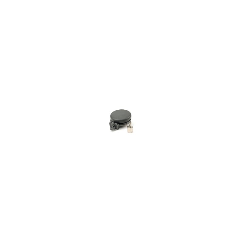 """Remote Inlet Air Filter Assembly, Plastic Housing (1/4"""" x 1/4"""" Tube Fitting, NPT)"""