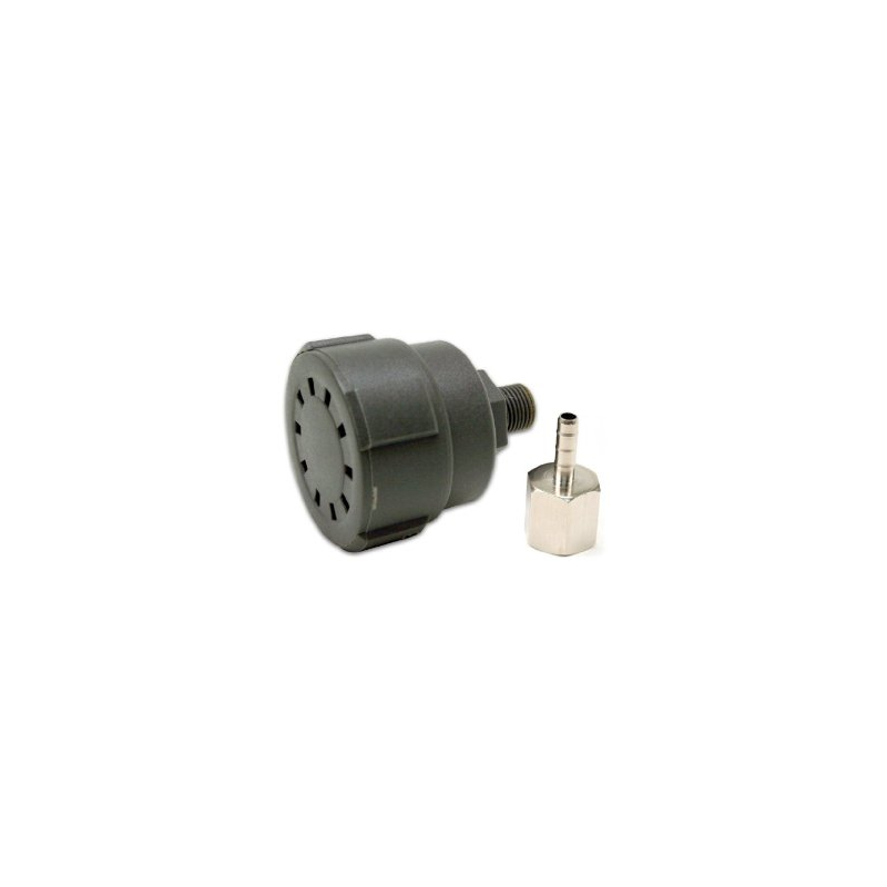 """Remote Inlet Air Filter Assembly, Plastic Housing, 1/8"""" M NPT (Use with P/N 00092, 20005)"""