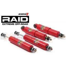 Koni shock HT RAID  *  : for Std or raised susp., Front: 0 - 50 mm / Rear: 0 - 40 mm 99-13 FRONT LEFT