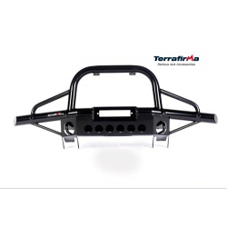 TERRAFIRMA TUBULAR WINCH BUMPER WITH AIR CON 90/110/130