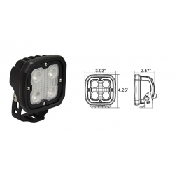 Duralux 4 LED Work Light