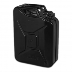 JERRY CAN 20L BLACK