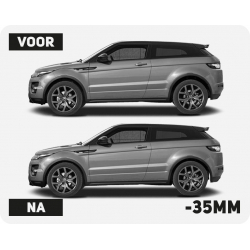 Lowering spring set Evoque
