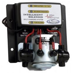 Intelligent solenoid / Battery isolator kit