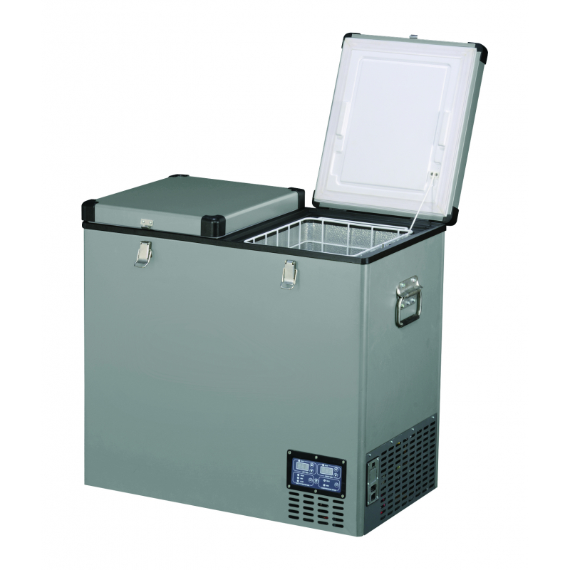 FRIDGE 118LTR-79x47x74CMS - 36kgs - +10 - 18°c DOUBLE  DOO