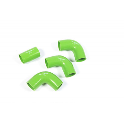 TERRAFIRMA SILICONE INTERCOOLER HOSE KIT GREEN 90/110/130 20
