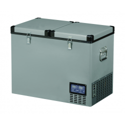 FRIDGE 92LTR-79x47x62CMS - 33kgs - +10 - 18°c DOUBLE  DOOR