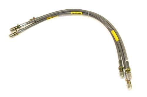 Stainless steel brake hoses