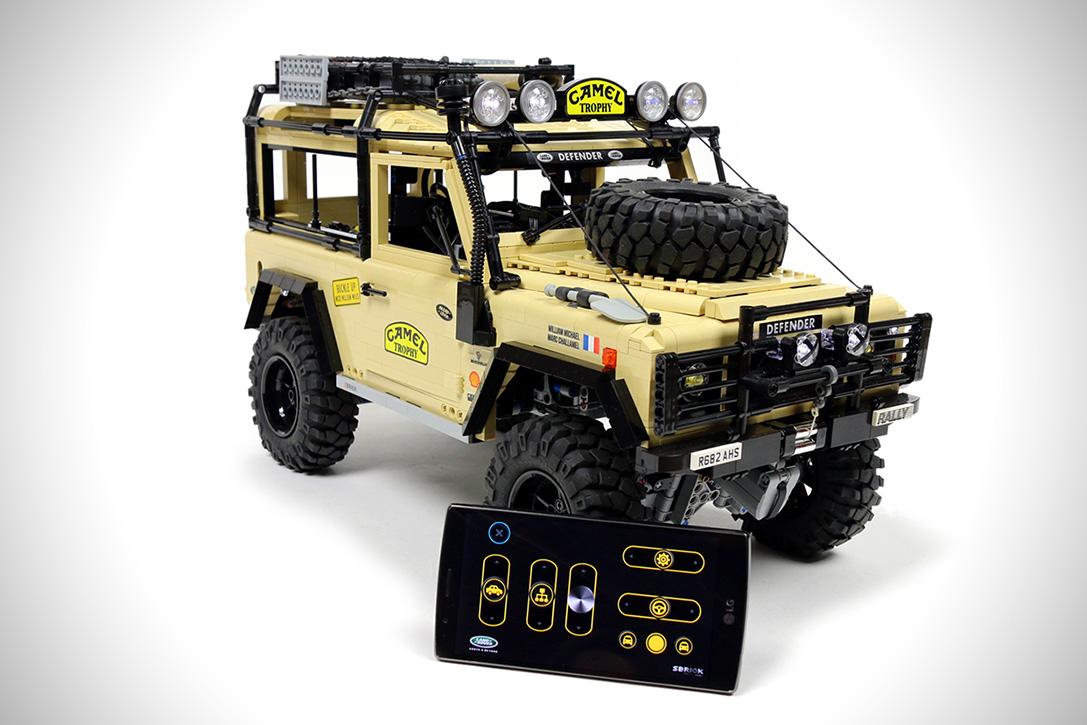 Trekk 4x4 Prototype Lego Rc Land Rover Defender Video