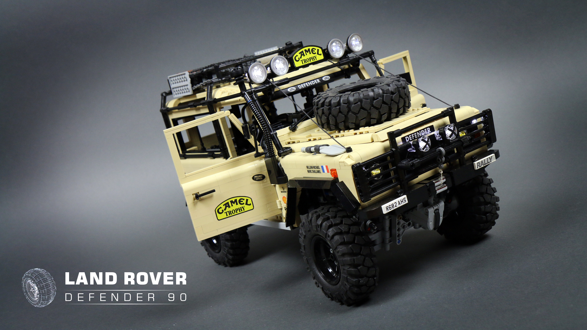 Trekk 4x4 Prototype Lego Rc Land Rover Defender Video