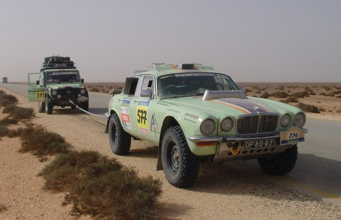 A CAR YOU'D NEVER EXPECT TO BE TURNED INTO RALLY RACERS