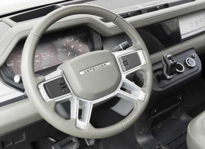 LEAKED: HERE'S UPCOMING LAND ROVER DEFENDERS INTERIOR